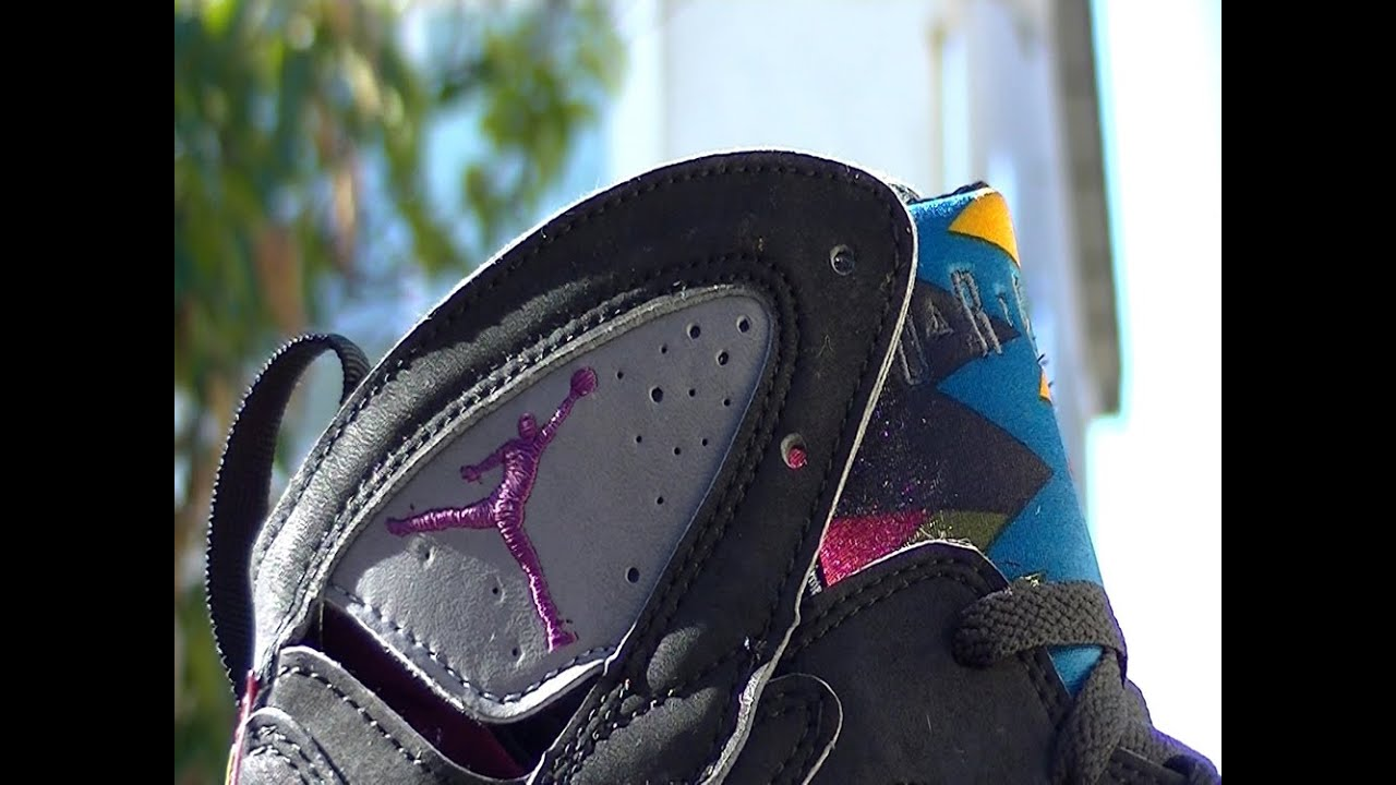 97eb31518a32c4 The OG Air Jordan VII 7 Bordeaux - YouTube