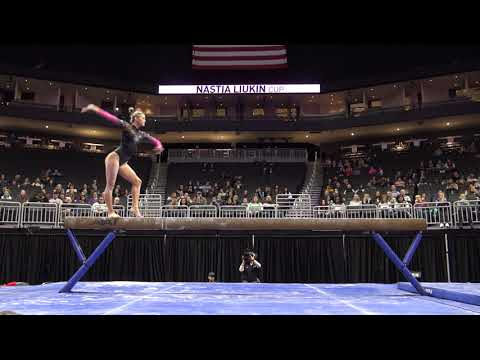 Olivia Dunne -  Balance Beam – 2020 Nastia Liukin Cup