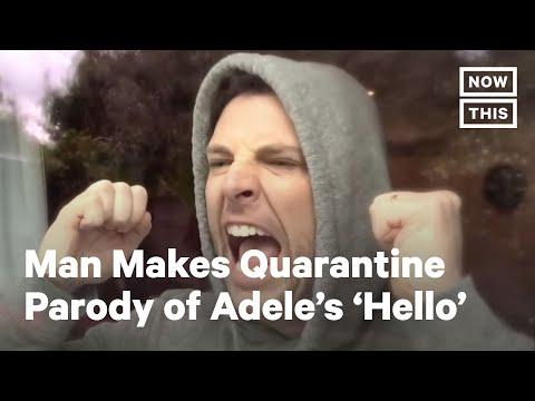 Chris Mann's Quarantine Parody of Adele's 'Hello' | NowThis