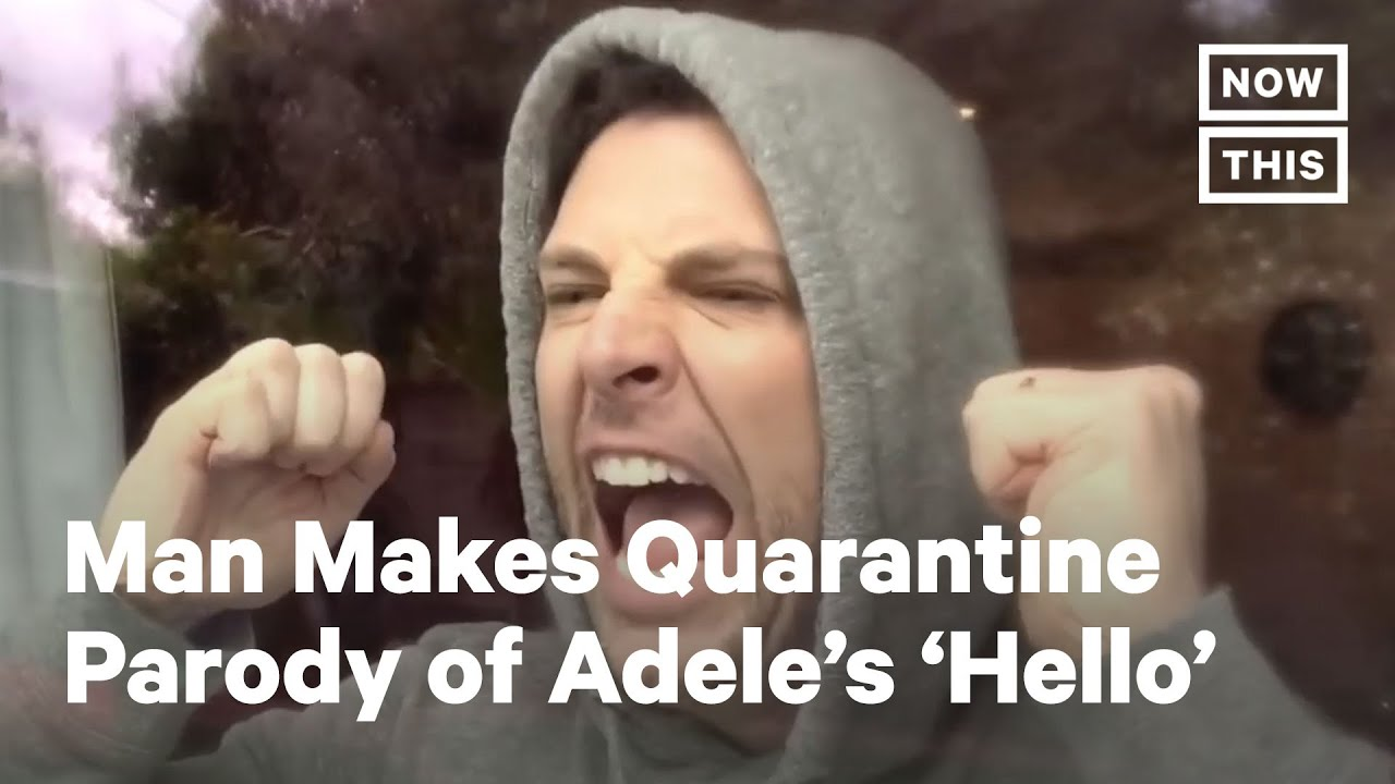 Chris Mann's Quarantine Parody of Adele's 'Hello' | NowThis