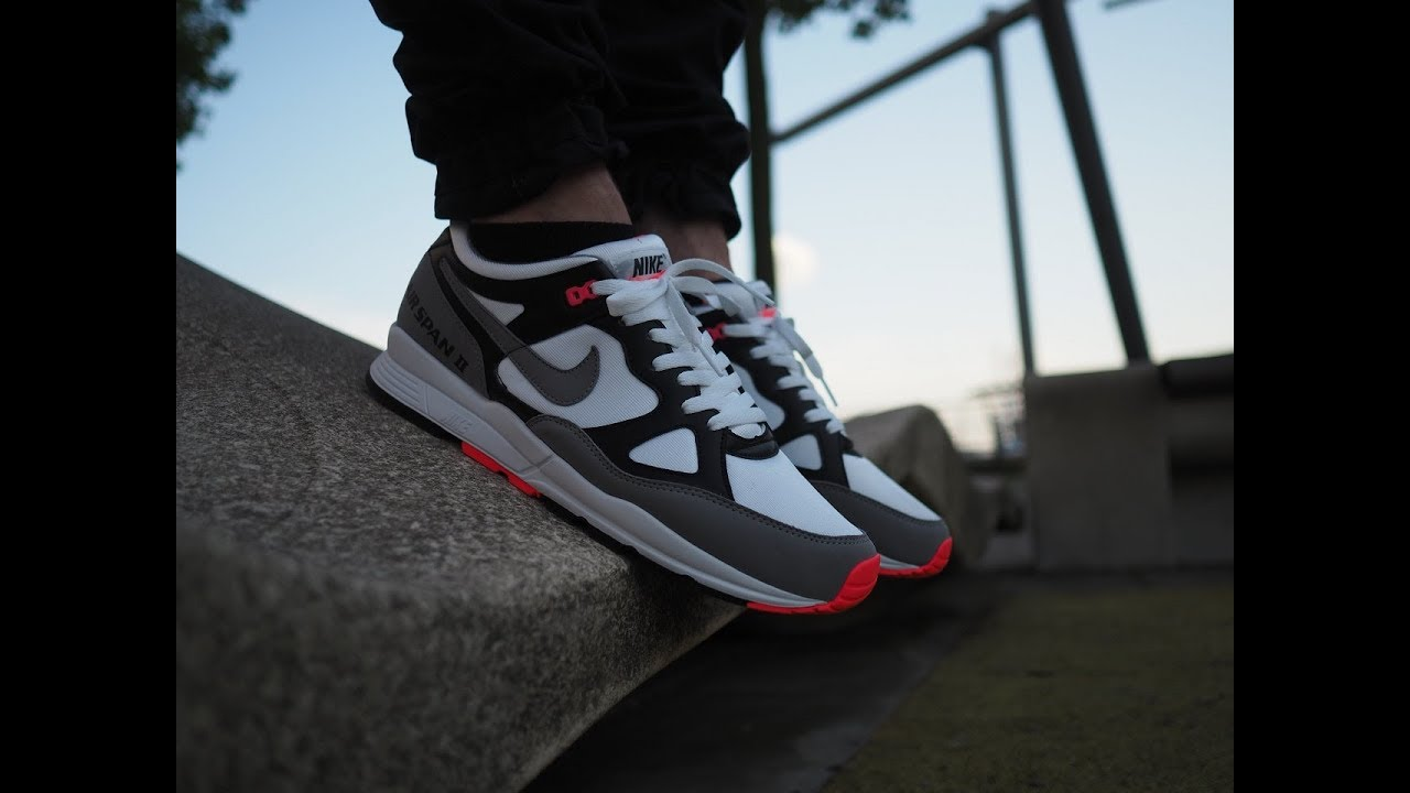 Review & On Feet Video: Nike Air Span II Solar Red / FEUERALARM!