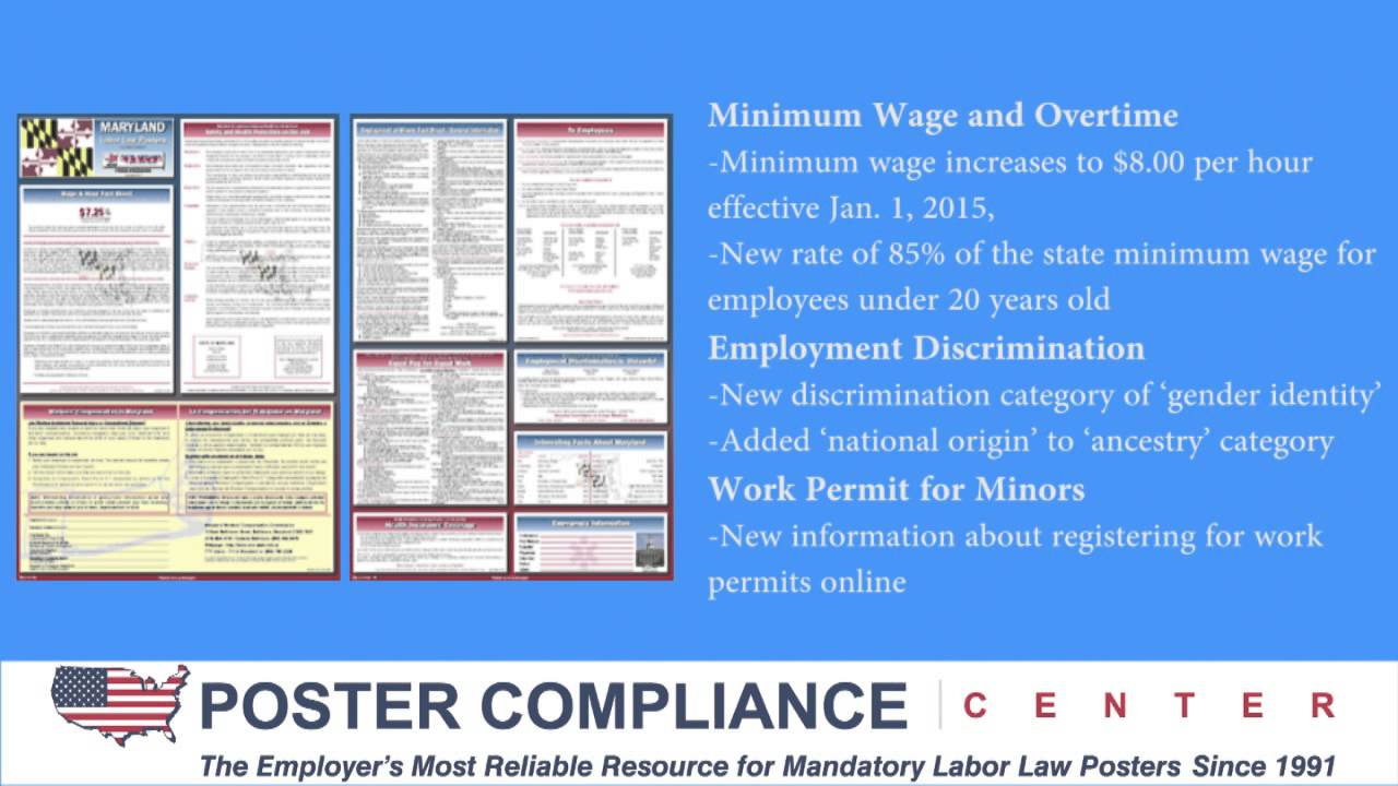 maryland labor law poster update  youtube 1280 x 720 · jpeg