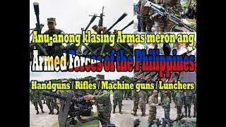 List of equipment of the Philippine Army Handguns/Rifles/grenade lunchers