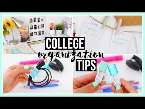 College Organization Tips! ♡ Karina Lynn Kho