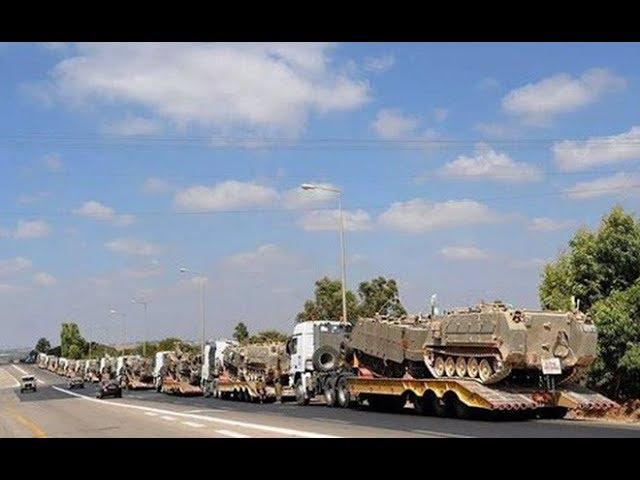 Xe tăng Israel đồng loạt kéo về dải Gaza