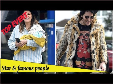 Top Event - New Dad Noel Fielding And His Girlfriend Lliana Bird Are Spotted Out With Their New B...