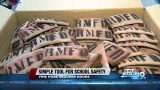 Old fire hose can shut out school shooters