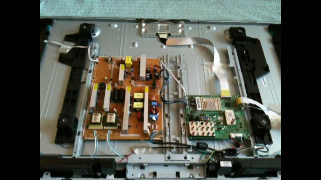 Samsung TV  Power on Problem  Capacitor Replacement