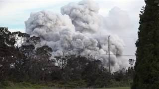 Kilauea Volcano Summit Explosive Eruptions And Ash Clouds - May 2018 thumbnail