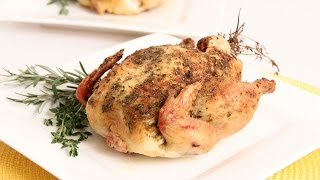 Herb Roasted Cornish Hen Recipe - Laura Vitale - Laura In The Kitchen Episode 845