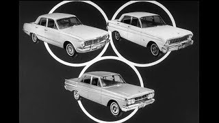 1964 Plymouth Valiant vs Ford Falcon & Mercury Comet