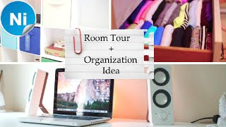 Room Tour + How to clean your room | Drawer Organizer | Desk Organizer | Cloth organizer