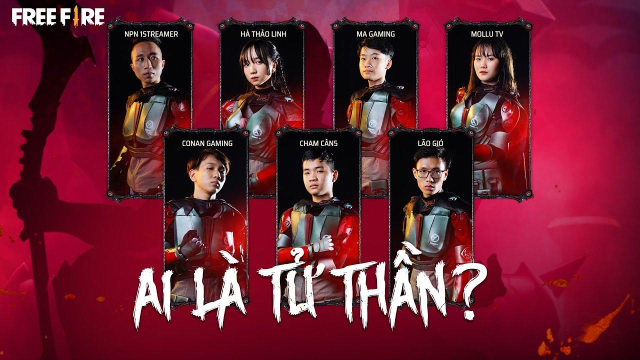 AI MỚI LÀ TỬ THẦN?   Cham Cân5 , Lão Gió, Ma Gaming, Conan, Mollu, Hà Thảo Linh, NPN 1Streamer