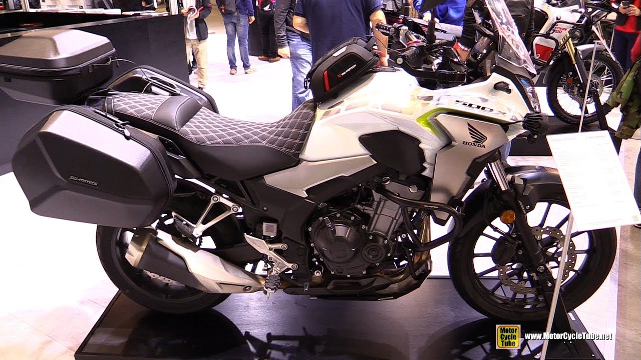 2020 Honda Cb 500 X Customized By Sw Motech Walkaround 2019 Eicma Youtube
