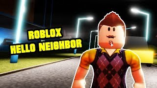 Greetings, Neighbor! Alpha I - ROBLOX HELLO NEIGHBOR
