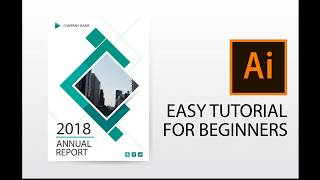 Video Illustrator tutorial : how to design annual report cover, brochure, flyer template download MP3, 3GP, MP4, WEBM, AVI, FLV Juli 2018