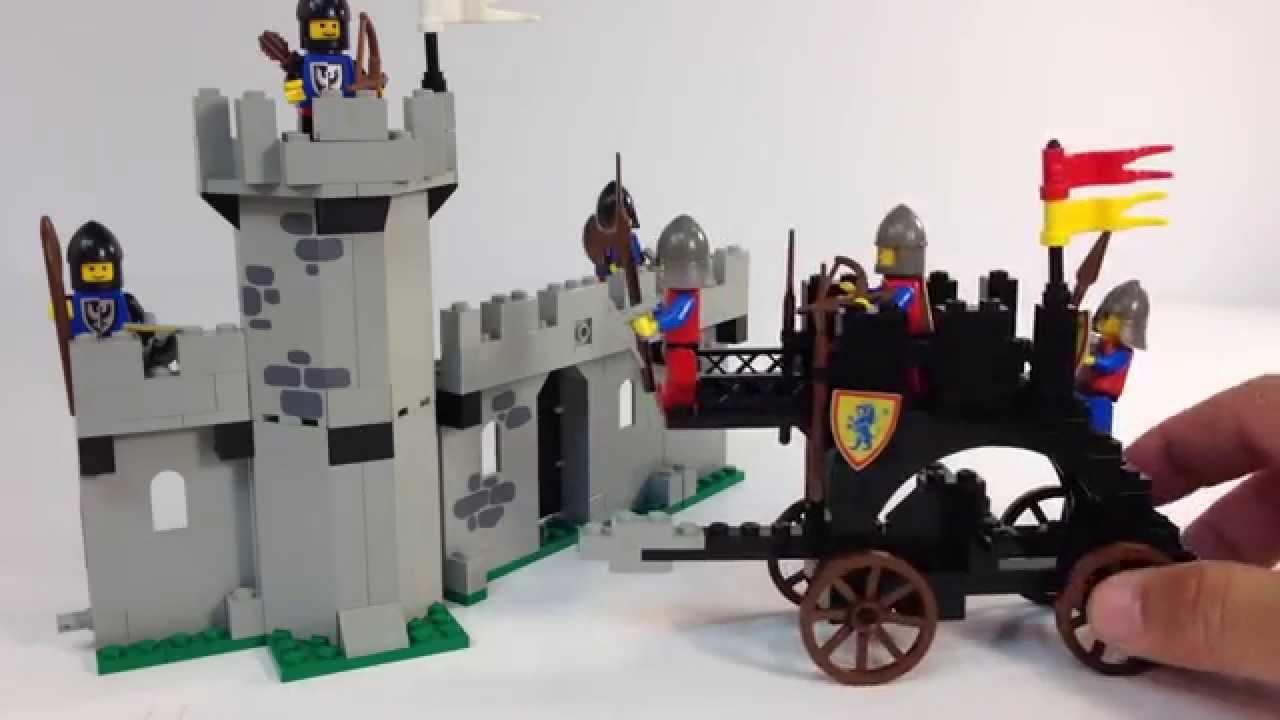 Legoland Castle System 6062 Battering Ram Classic 1987 Lego Set