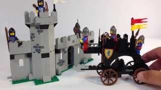 LEGOLAND Castle System 6062 Battering Ram - Classic 1987 Lego set!