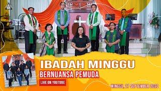 IBADAH MINNGU BERNUANSA PEMUDA | 27 SEPTEMBER 2020 | GKJW JEMAAT SURABAYA
