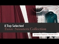 8 Top Selected Tunic Sweaters Collection Amazon Fashion, Winter 2017