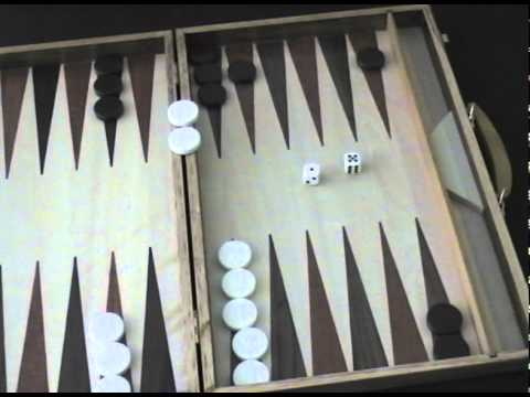 Cayro The Games Como Se Juega Al Backgammon Youtube