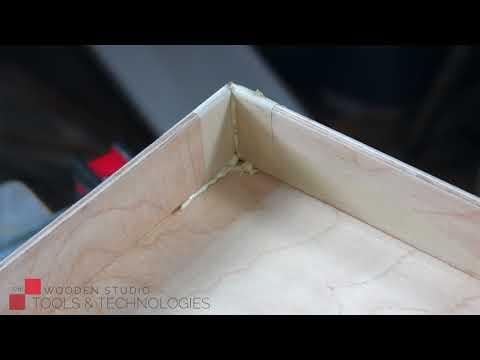❗️Как изготовить ящик из тонкой фанеры одной фрезой?