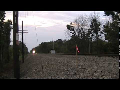 New Amtrak Viewliner II passenger cars on the move 7/8/2014