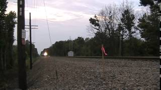New Amtrak Viewliner passenger cars on the move 7/8/2014