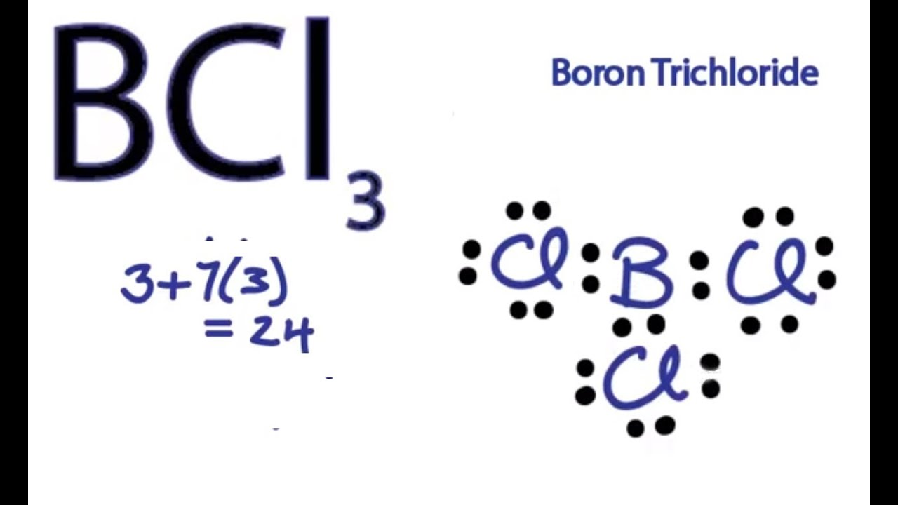 bcl3 lewis structure how to draw the lewis structure for bcl3 [ 1280 x 720 Pixel ]
