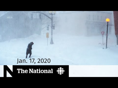WATCH LIVE: The National For Friday, Jan. 17 — Blizzard Paralyzes Newfoundland And Labrador