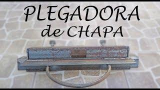 PLEGADORA DE CHAPA, un regalo de navidad....
