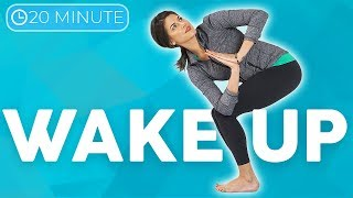 20 minute Morning Yoga Full Body Flow ???? WAKE UP with Intention | Sarah Beth Yoga