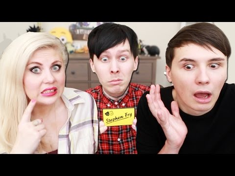 Dan Phil and Louise Play OBAMA LLAMA