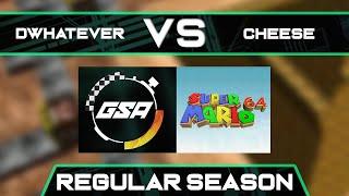 Dwhatever vs CLG cheese | Regular Season | GSA SM64 70 Star Speedrun League Season 3