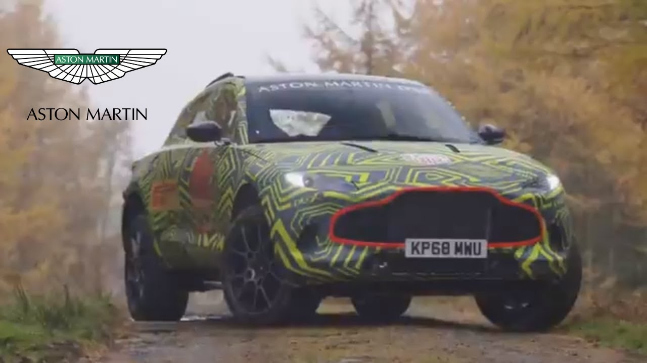 💥2019 aston martin dbx - test-drive of the first suv of the brand