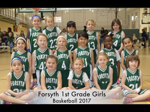 1st Grade Girls Basketball 2017 Highlights - Forsyth School (St. Louis)