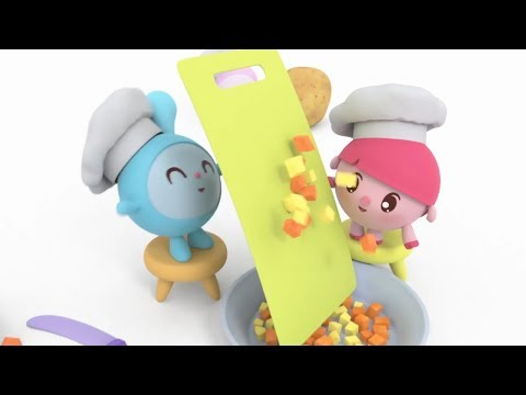 Малышарики - новая серия - Съешь меня! (131) Мультики для самых маленьких