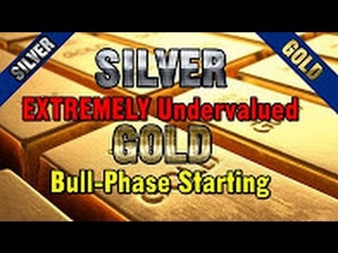Silver EXTREMELY Undervalued, New GOLD Bull Phase Starting NEW