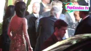 Catherine Zeta Jones & Michael Douglas arrive at 2013 Vanity Fair Oscar Party in WeHo Thumbnail