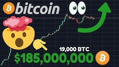 BREAKING!!!!!!! SOMEONE JUST BOUGHT 19,000 BITCOIN!!!! MASSIVE BTC ACCUMULATION!!