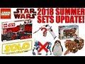 LEGO Star Wars Summer 2018 Sets RUMORS UPDATE!   75219 IMPERIAL HAULER, 75220 SANDCRAWLER, & MORE!