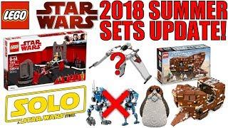 LEGO Star Wars Summer 2018 Sets RUMORS UPDATE! | 75219 IMPERIAL HAULER, 75220 SANDCRAWLER, & MORE!