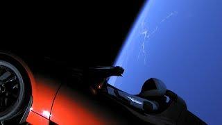 Starman on board Falcon Heavy - Falcon Heavy Launch 6/2/2018