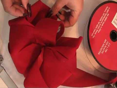 red velvet bow how to youtube