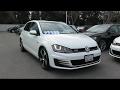 2015 Volkswagen Golf Gti Autobahn Hatchback Sedan San Jose  Sunnyvale  Hayward  Redwood City  Cupert