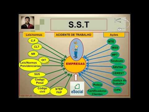 Vidoaula 1 - Importância e situação atual mundo e Brasil da SST - Segurança Saúde do Trabalho