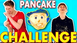 DONALD TRUMP Pancake Challenge SIBLING TAG | Collins Key