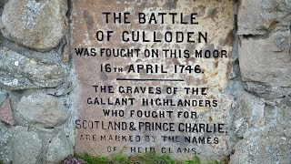 Culloden Moor in Scotland • Scene of the Battle of Culloden in 1746