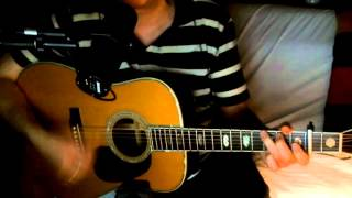 Bye Bye Love ~ Roy Orbison - Everly Brothers - Simon & Garfunkel ~ Acoustic Cover w/ Martin D-45