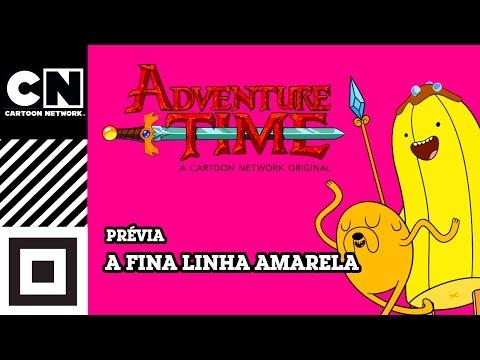 A fina linha amarela | Hora de Aventura | Prévia | Cartoon Network